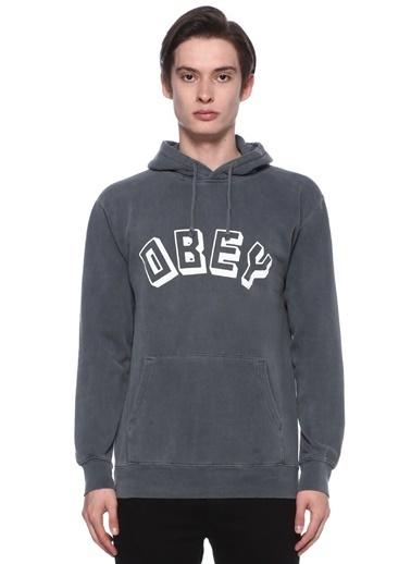 Obey Sweatshirt Siyah